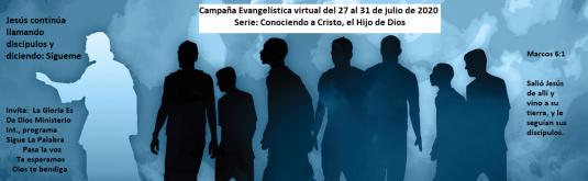 Campaña Evangelística Virtual